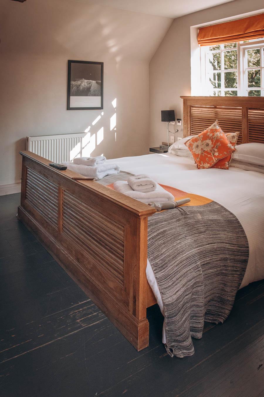Boutique hotels   Bed at The Old House, Effingham Road, Copthorne, West Sussex