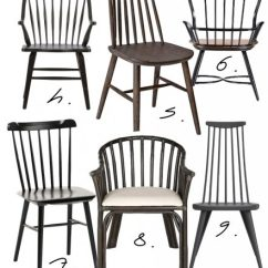 Farmhouse Dining Chairs Outdoor Teak Sydney Style Black Windsor For Every Budget Hey Djangles Heydjangles