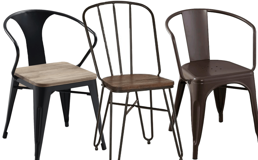 industrial dining chair covers mr price affordable modern chairs hey djangles are simple in design yet rustic appearance usually made of stainless steel and or other matte metal combos