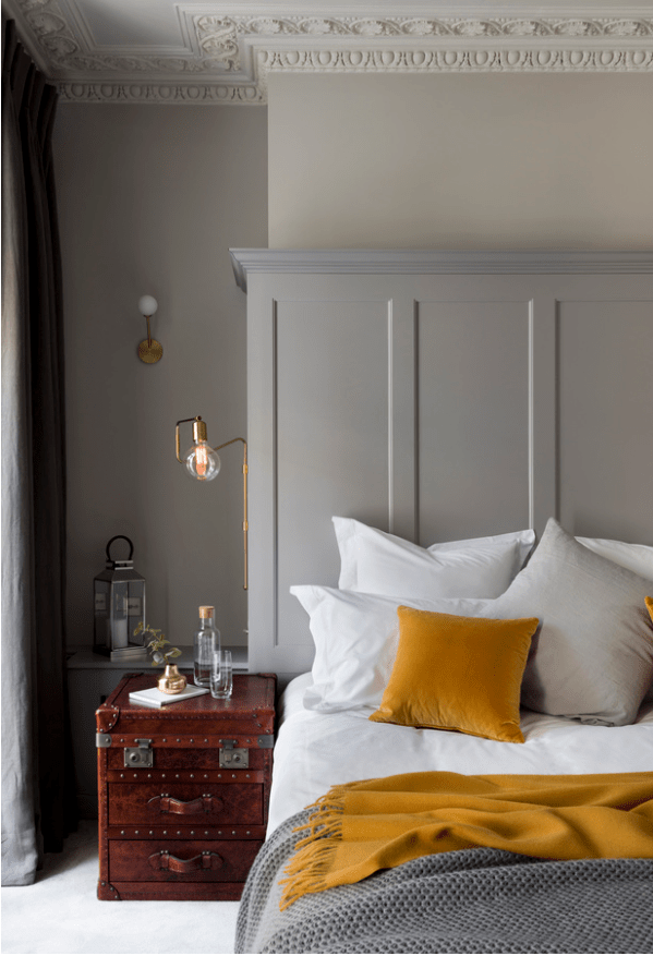 decorating with mustard yellow hey
