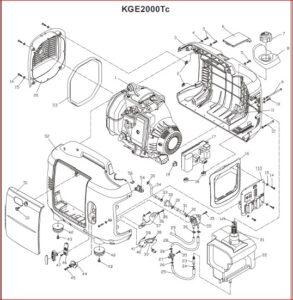 Kipor Kge2000tc Generator User And Parts Manual