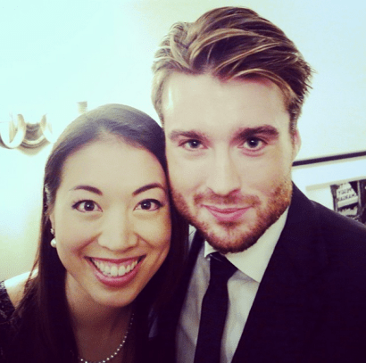 dude's got a nice jawline. (with pete cashmore in may.)