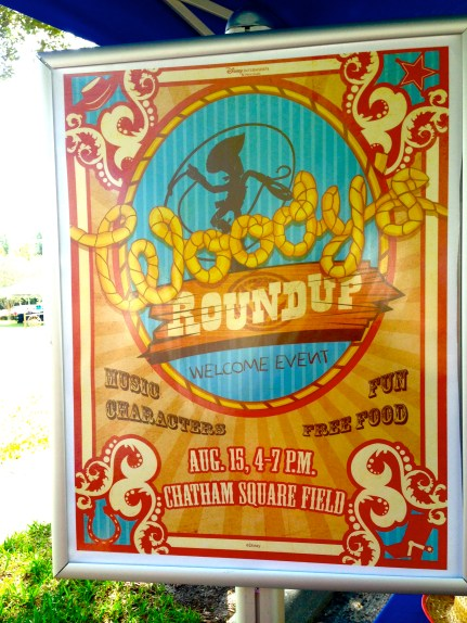 Really cool poster for Woody's Roundup!