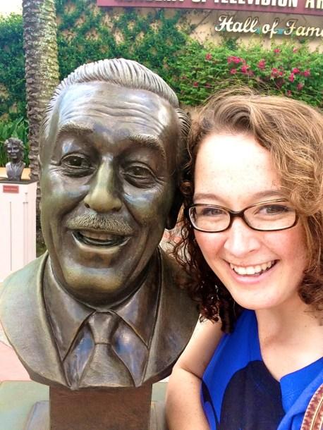With Walt.