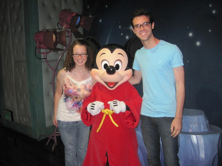 From way back in 2010, our Meet and Greet with Mickey!