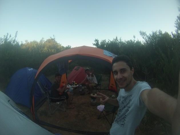 Cabo Polonio camping