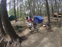 Camping again near Punta Del Este