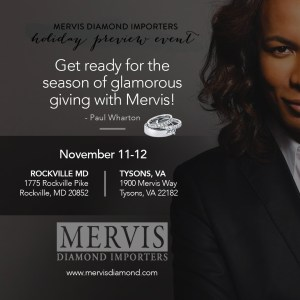 Mervis Diamond Holiday Preview Event