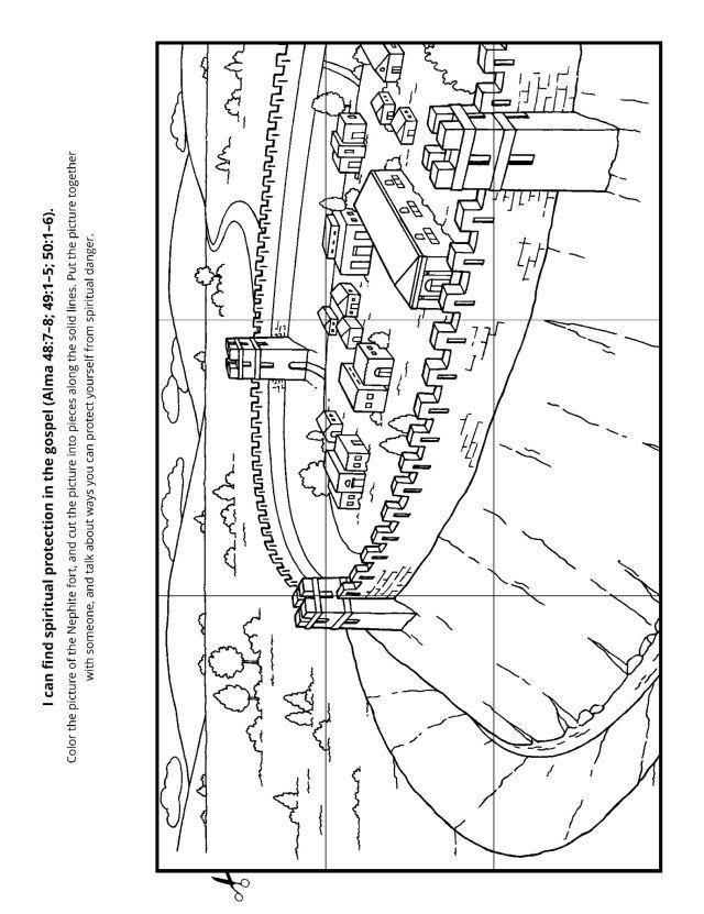 Book of Mormon Journal-Alma 43-52-