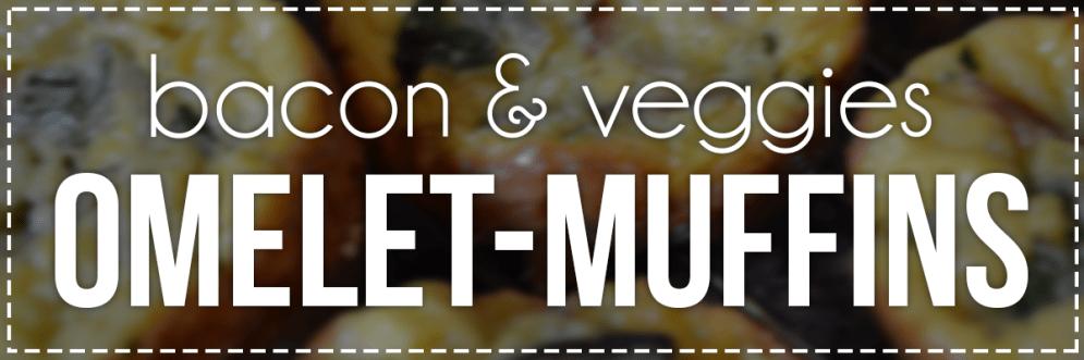 Bacon & Veggie Omelet-Muffins | Hey, Heather Angel
