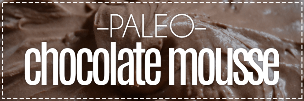 Paleo Chocolate Mousse | Hey, Heather Angel
