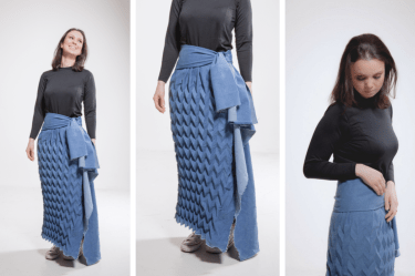 fashion, design, master degree, photoshoot, aalto, jeans, skirt, finland, textile
