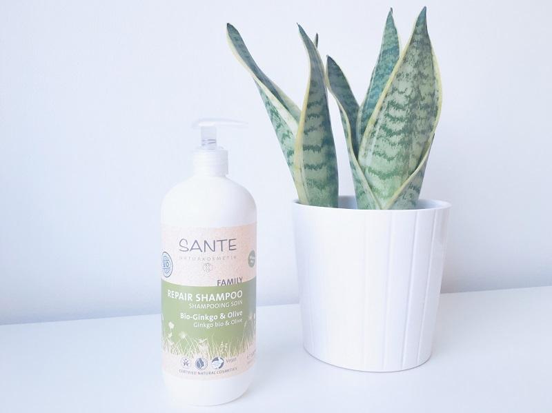 review, beleza, shampoo, sante, orgânico, natural, sem parabenos, sem silicone, cabelo, ginkgo biloba, shampoo reparador