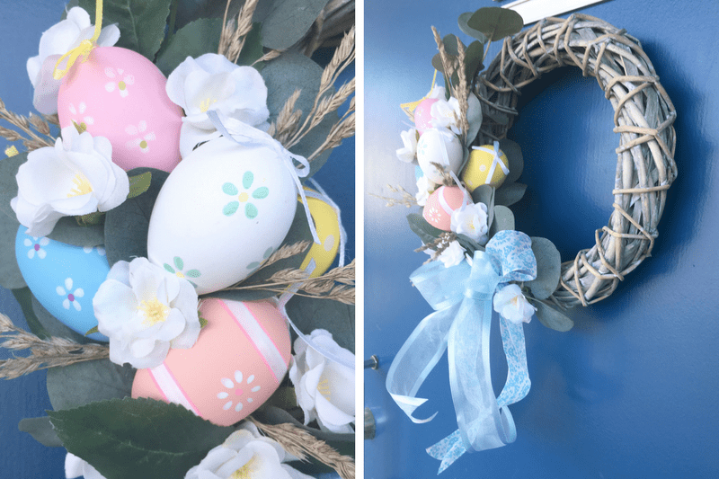Easter, Easter decor, Easter wreath, wreath, spring, Easter bunny, Easter holiday, decoration, DIY,