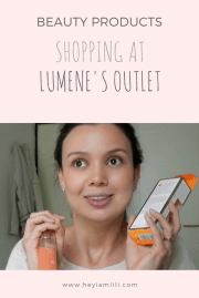 Finland - Shopping at Lumene's Outlet