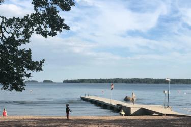 beach tip in Finland, beach, brasileiras pelo mundo, Espoo, travel, summer in Finland, trip, life in Finland, videos, vlog