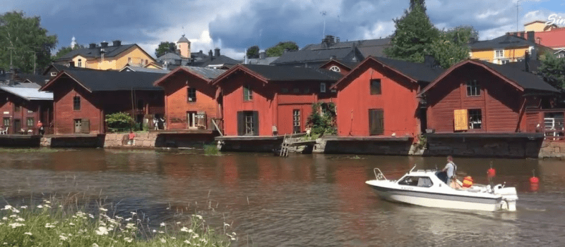 Finland – The Charming Town of Porvoo