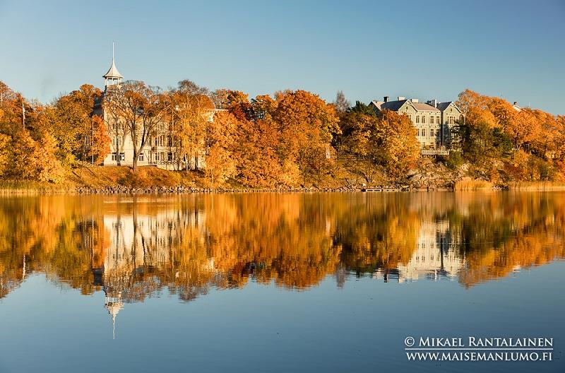 Dicas Outono Helsinki Finlândia, Ruska Suomi, Autumn Tips Helsinki Finland, töölönlahti