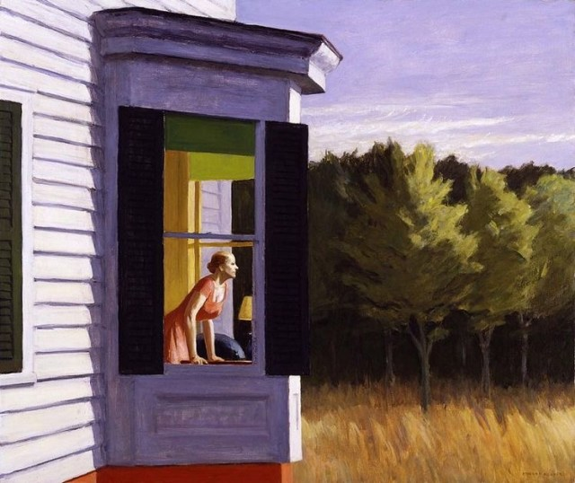 "Edward Hopper ""Cap Code morning"", 1959"