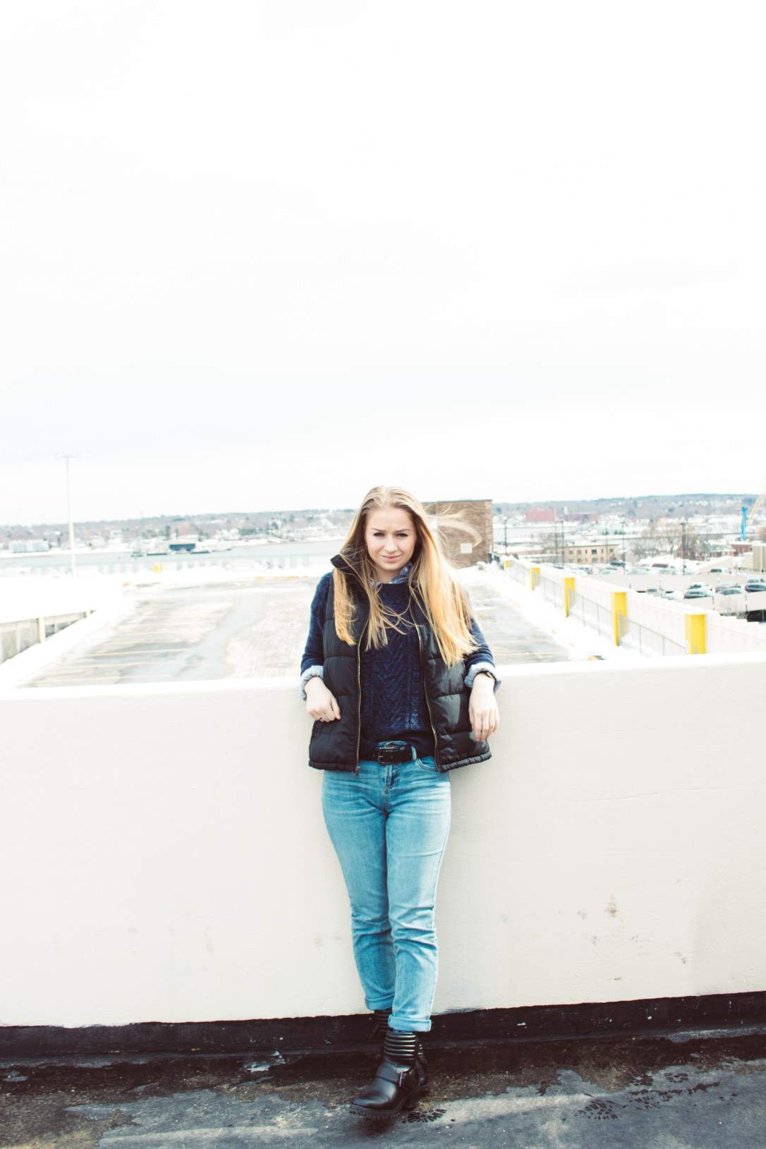 3 Ways to Style Straight Leg Jeans