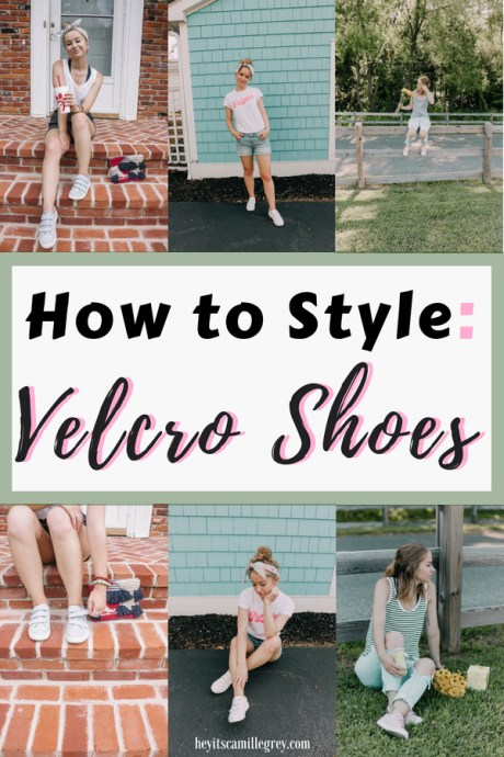 How to Style Velcro Shoes | Weekly Obsession