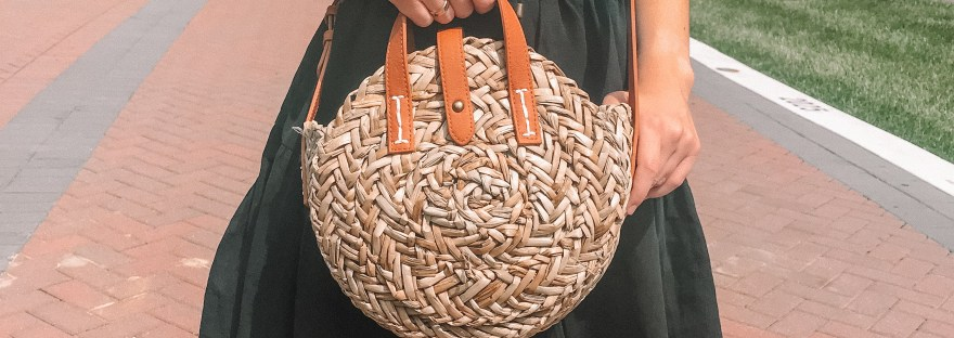 How to Style Straw Bags | Weekly Obsession -Hey It's Camille Grey