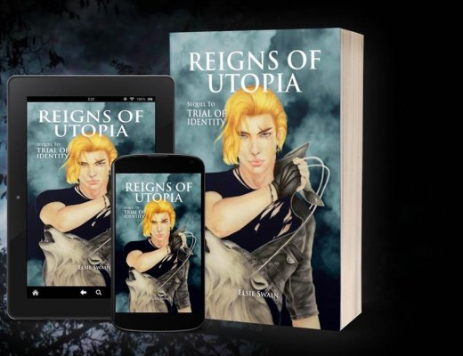 Reigns of Utopia by Elsie Swain