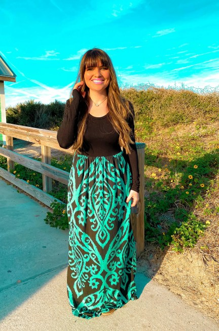 A Maxi Dress with handy pockets