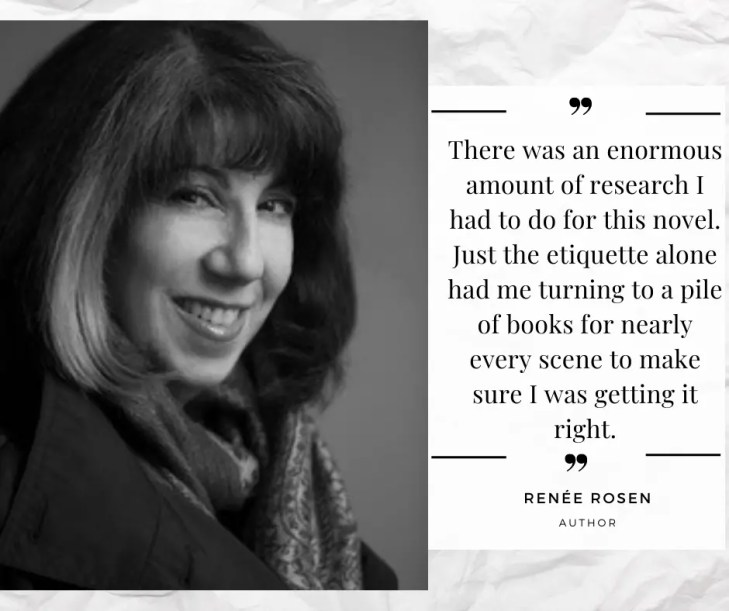Exclusive Renée Rosen quote