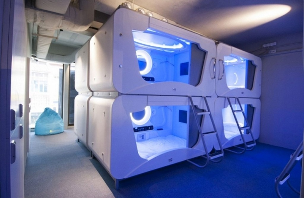RelaxPoint Capsule Hotel | In Terminal Accommodation at Moscow Vnukovo Airport Hotel