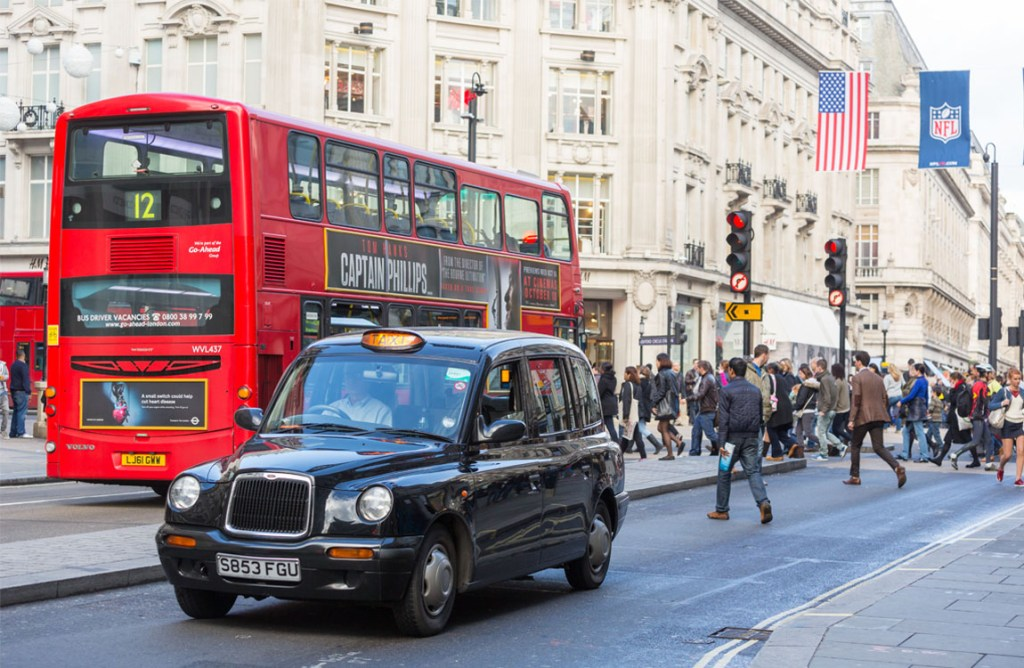 Best ways to get from London Heathrow to London Central | Black Cab in London