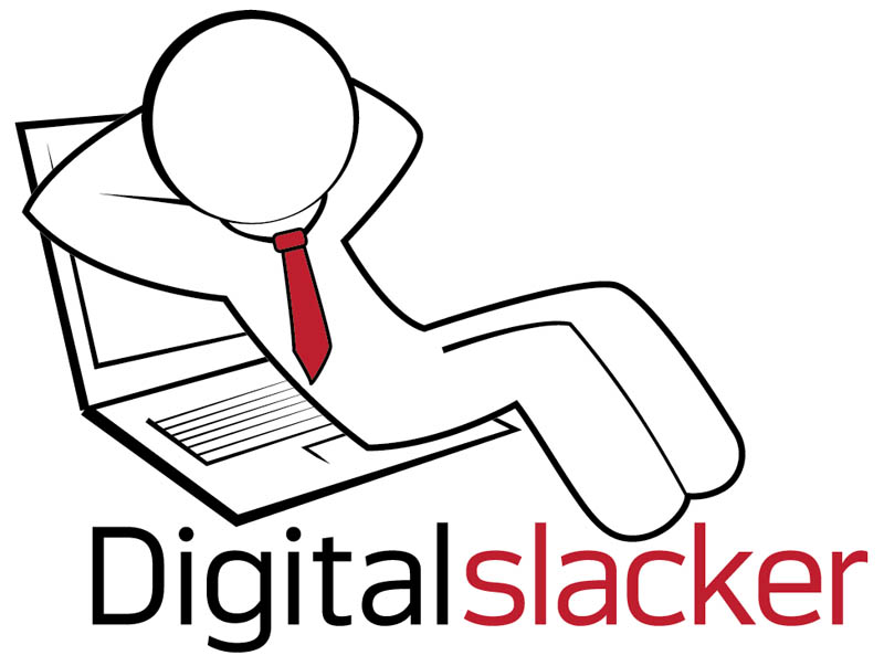 Logo Design, Digital Slacker