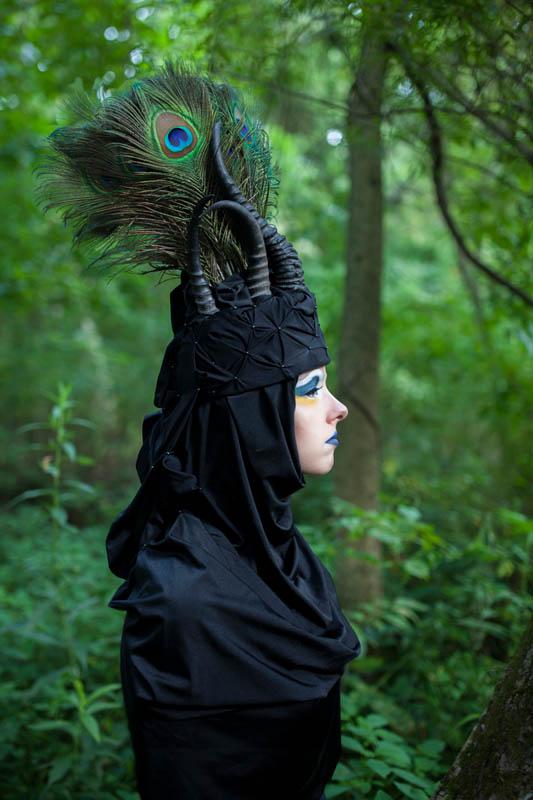 Hand-made Headdress, Editorial Shoot