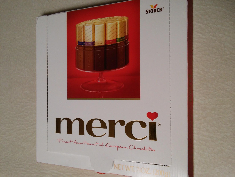 Stork merci chocolate