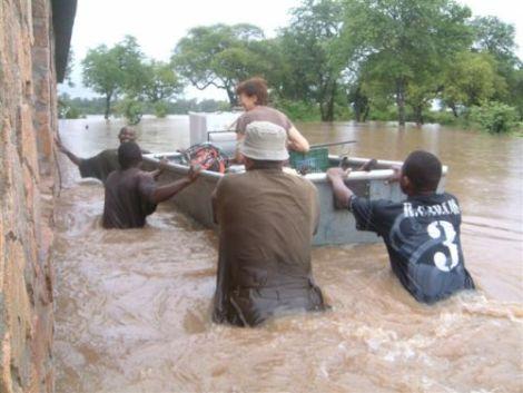 Heyland Guddle Rescue Boat in Liberia