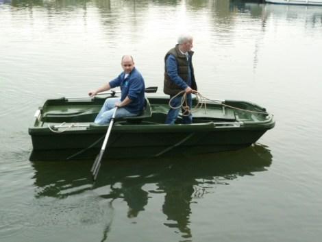 Heyland Sturdy 350 Rowing Boat1