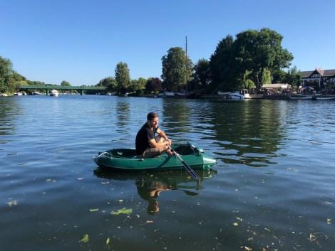 Heyland Neptune 220 Rowing Boat13
