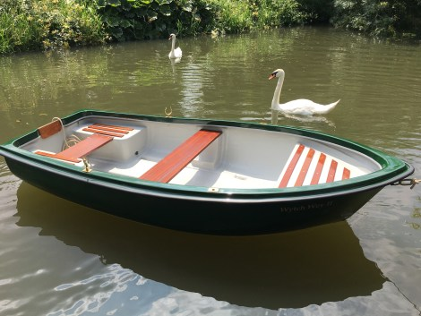 Heyland Swan Rowing Boat16