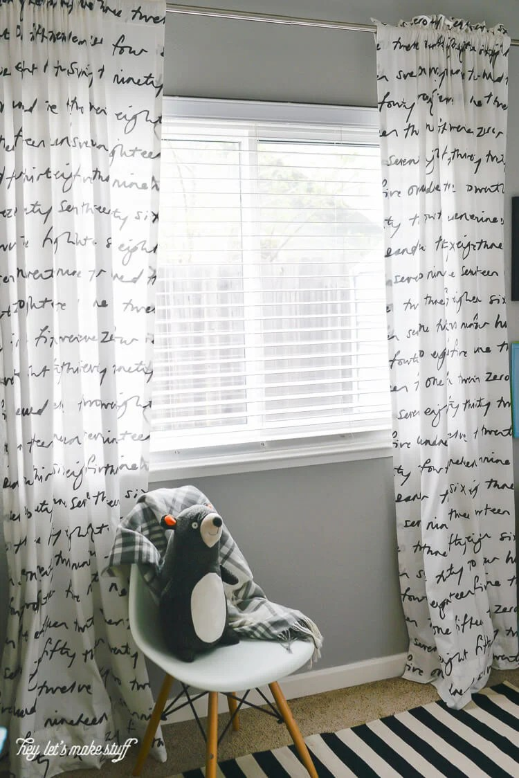 If you can sew five straight(ish) lines, you can make these simple but stunning curtains.