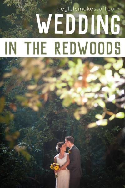 Our outdoor wedding at Stones & Flowers Retreat in Santa Cruz, CA. We said our vows among the redwoods in front of our family and friends. Here are the details!