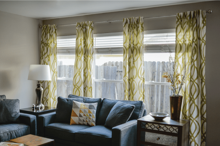 How To Hang Curtains A Quick Tutorial Hey Let S Make Stuff