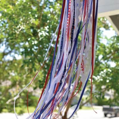 DIY Patriotic Windsock