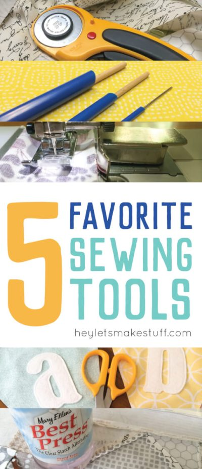 There are so many sewing tools to choose from. Here are my favorite picks and the ones I use all the time.