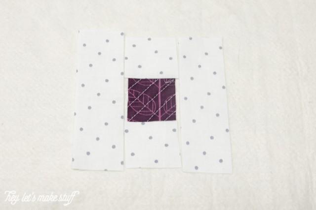purple and gray fabric