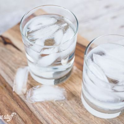 How to Make Ice Water