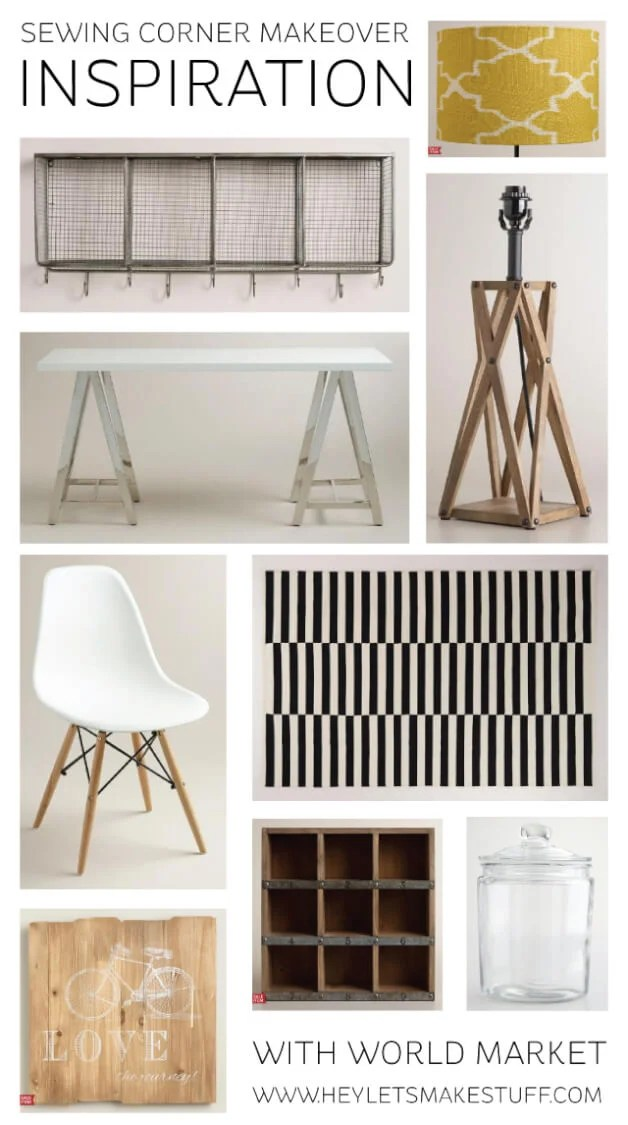 inspiration board for craft room