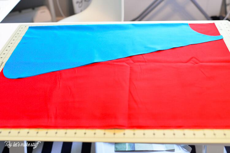 fabric for superman cape