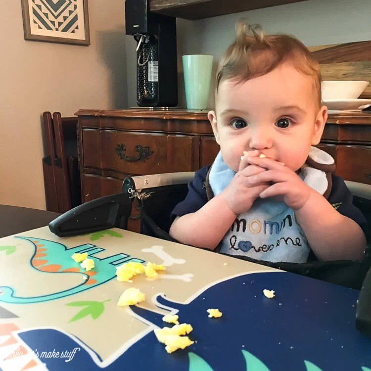 The idea of making purees and spoon-feeding our twins wore me out just thinking about it! Here's how baby-led weaning totally rocked our world and created two boys who will eat pretty much anything!