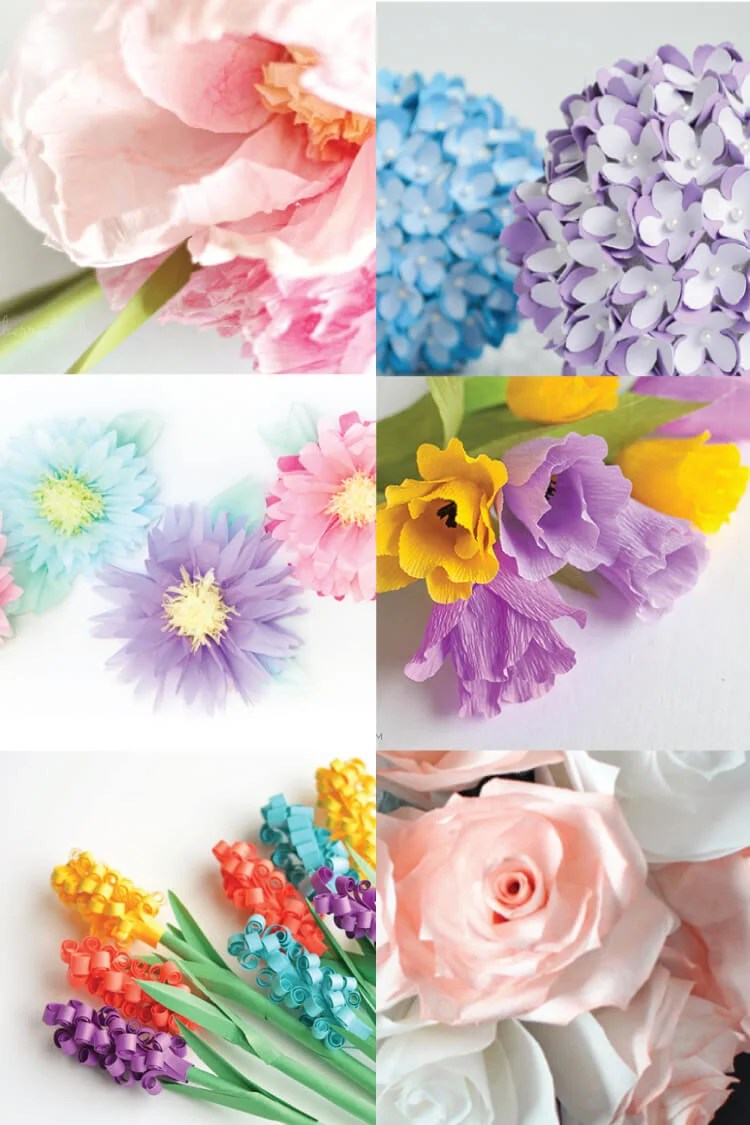 The Best Paper Flower Tutorials Hey Let S Make Stuff