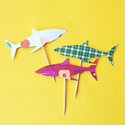 Shark Week: Shark Crafts